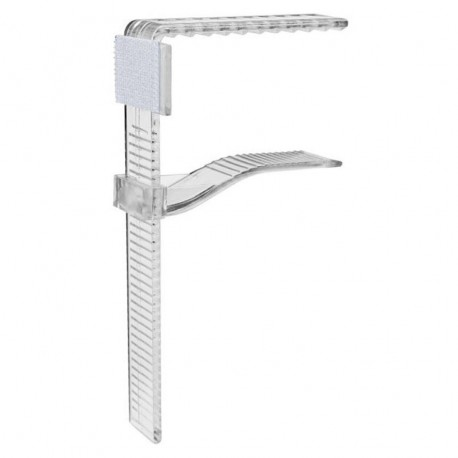 Clip de fixation réglable pour juponnage de table